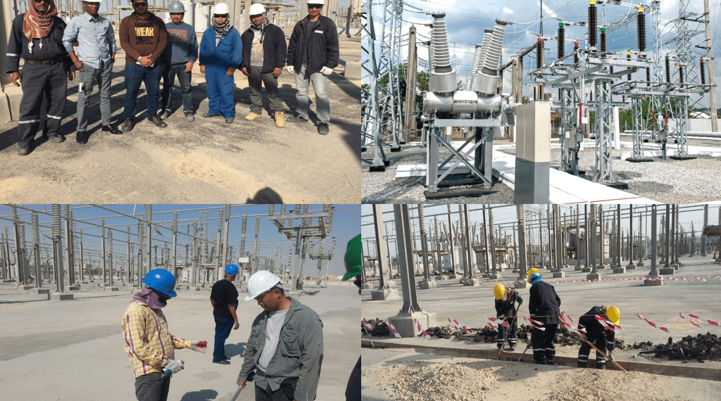 A Project from Saudi Electricity Company