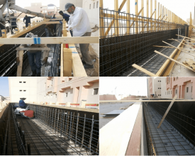 GCTC Construction work in King Faysal University-min