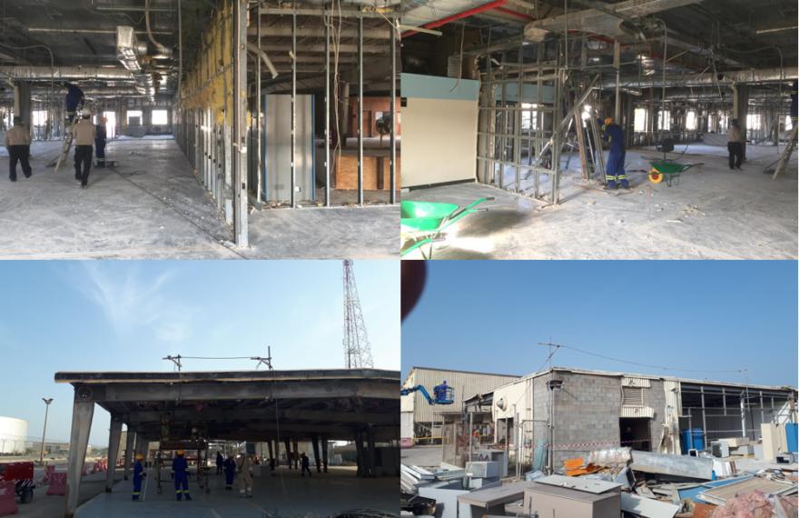 Building Demolishing Rastunura (Target)